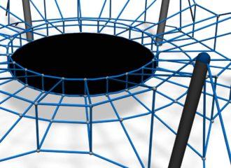 trampoliini hyvä koko