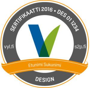 sertifikaattilogo-design